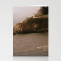 lighthouse Stationery Cards featuring Lighthouse by Victoria's View