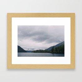 Lake Crescent Framed Art Print