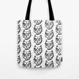 Satan Kitty Tote Bag