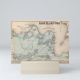 Map of East Hampton 1873 Mini Art Print