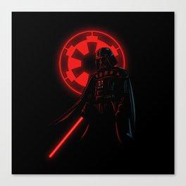 Dark Vader Canvas Print