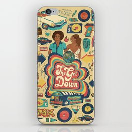 LONG LIVE THE REVOLUTION iPhone Skin