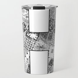 Cutout Letter H Travel Mug