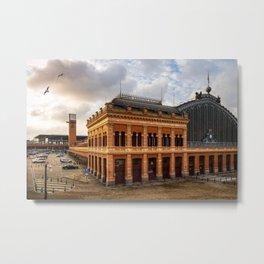 Atocha Railway Station of Madrid Metal Print
