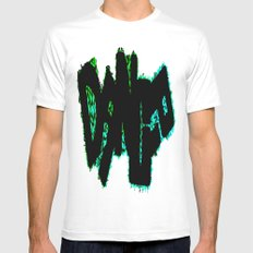 Dance MEDIUM White Mens Fitted Tee