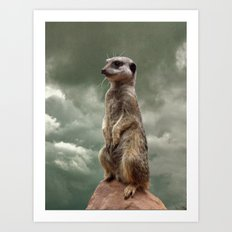 King of the world.... Art Print