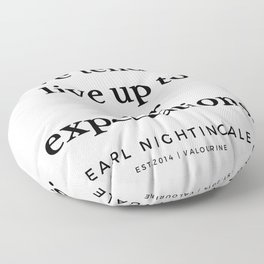 13  |  Earl Nightingale Quotes | 19082 Floor Pillow