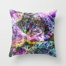 Cabsink16DesignerPatternBPF Throw Pillow