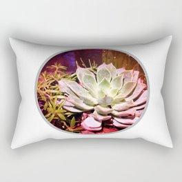Round and Around Rectangular Pillow