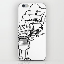 Set sail iPhone Skin