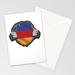 Carpathian Landscape Patriotic Romania Romanian Patriotism Country Gift Transylvania Chest Flag Stationery Cards