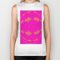 arrows Biker Tanks featuring ARROWS by Latidra Washington