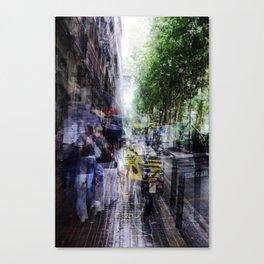 rhythm absolves integrated noodling Canvas Print