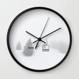 Lift To Heaven Wall Clock