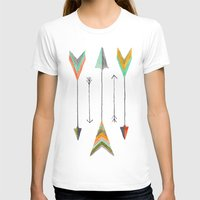 arrows T-shirts featuring Arrows by Hayley Lang