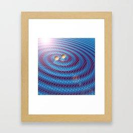 Gravity Waves Framed Art Print