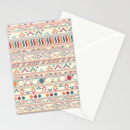 tribal Print Stationery Cards
