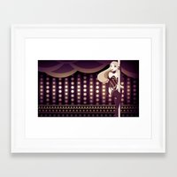 burlesque Framed Art Prints featuring Burlesque by ihasb33r