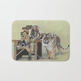 King Ezekiel and Shiva Bath Mat