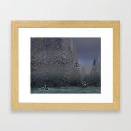 Broken Hearted Framed Art Print