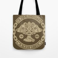 bioshock Tote Bags featuring Bioshock by Cameron Latham