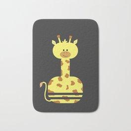 Happy Giraffe Bath Mat