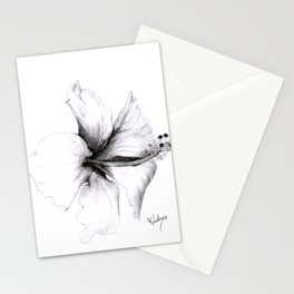 Hibiscus 1 Stationery Cards