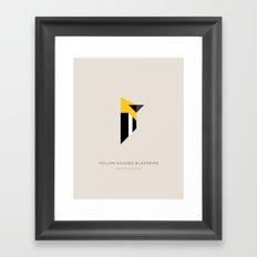 Yellow-Headed Blackbird Framed Art Print