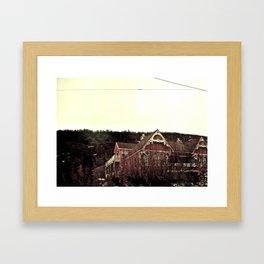 Merely Residential Framed Art Print