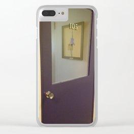 Elmira College 105 Iris Clear iPhone Case