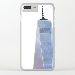 one world trade Clear iPhone Case