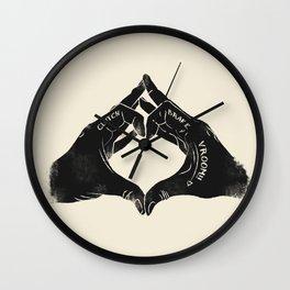 Clutch Brake Vrooom light Wall Clock