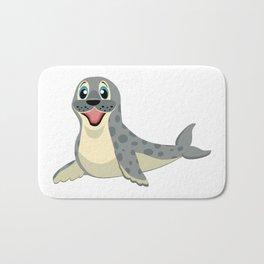Smiling Baby Seal Bath Mat
