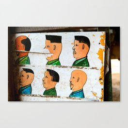 I'll Have the Flat Top Please Canvas Print