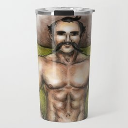 Sexy Mexican Revolutionary Travel Mug