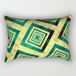 Golden Glare Rectangular Pillow