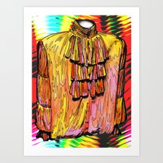 THE PUFFY SHIRT REMIX Art Print
