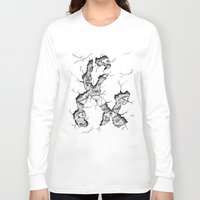 ampersand Long Sleeve T-shirts featuring ampersand by Squidfeathers