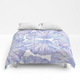 Shell Ya Later - Purple Seashell Pattern Comforters