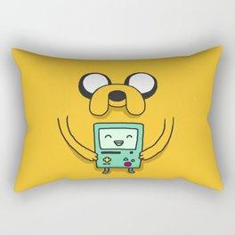 Jake and BMO Rectangular Pillow