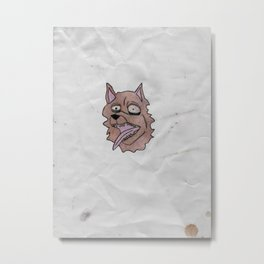 stray dog Metal Print