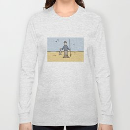 Beavid and Butthead Fisherman picture Long Sleeve T-shirt