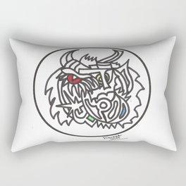 Bullfighter Rectangular Pillow