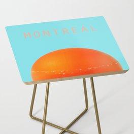 MONTREAL PASTEL Orange Julep Side Table