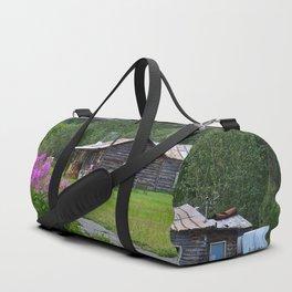 Pioneer Cabin - Alaska Duffle Bag