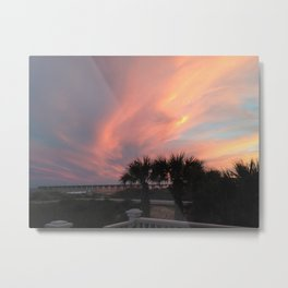 Swirl sky Metal Print