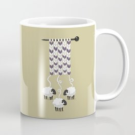 Wool Scarf Coffee Mug