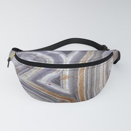 Raw Crazylace Agate 1651 Fanny Pack
