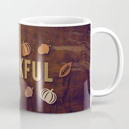 Thankful (Color) Coffee Mug