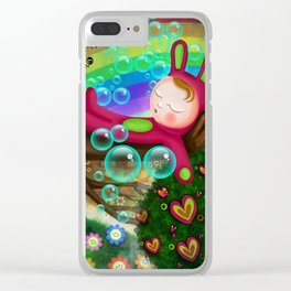 The Protecting Tree Clear iPhone Case